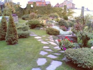 садовая каменная дорожка
