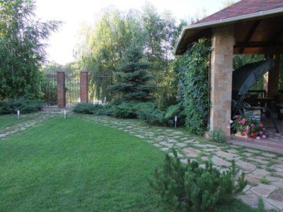 дорожка садовая каменная