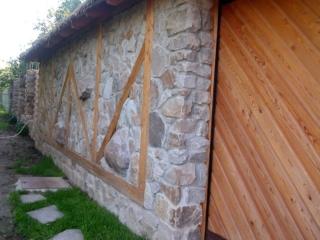 стена из бутового камня - кладка