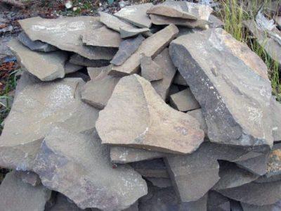 песчаник рельефный серый Фонтанка
