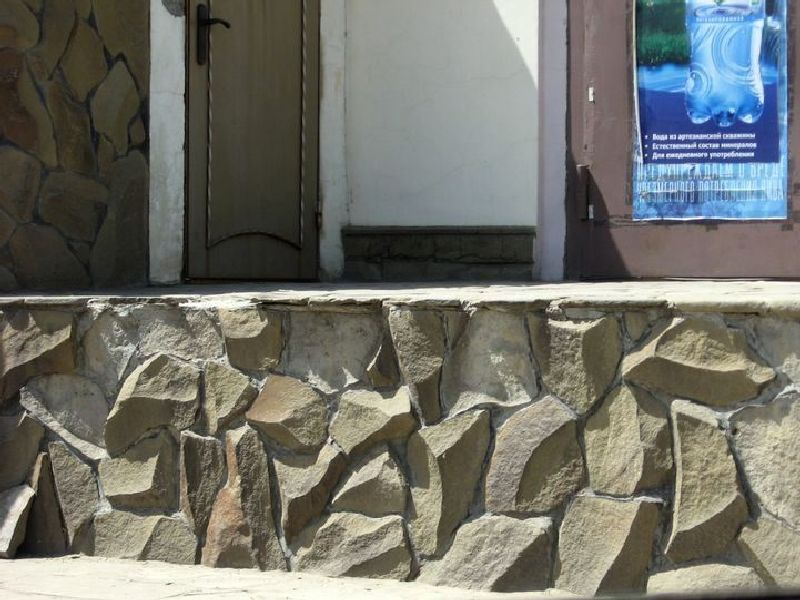 песчаник для облицовки фонтанка