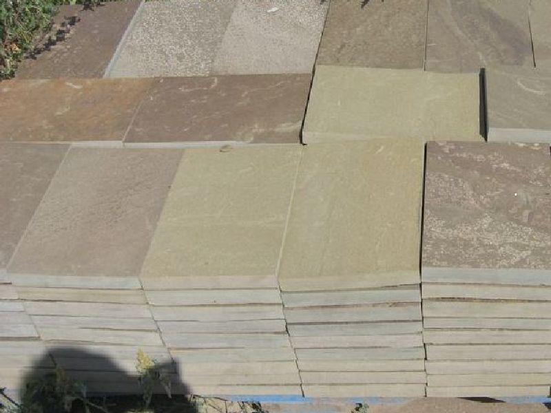 плитка пиленная из песчаника 2 см