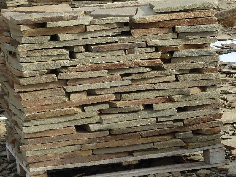 Песчаник серый 3см - натуральный камень для дорожек