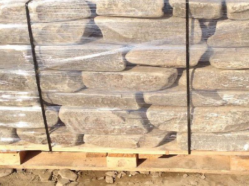 песчаник плитняк кладочный галтованный