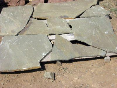 песчаник плитняк серый 1см для облицовки