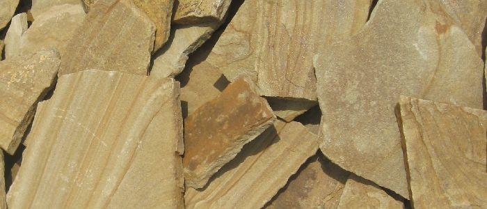 песчаник плитняк желтый